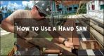 How to Use a Hand Saw?